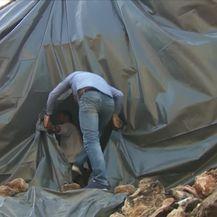Zabranjeni radovi, a zid već srušen (video: Dnevnik Nove TV)
