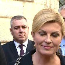 Predsjednica u Dubrovniku (Video: dnevnik.hr)
