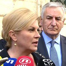 Predsjednica o Pelješkom mostu (Video: Dnevnik.hr)