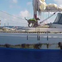 Spašavanje nautičarki nasred pacifika (Video: Reuters)