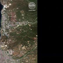 Satelitske snimke prije i poslije potresa u Indoneziji (VIDEO: AP)