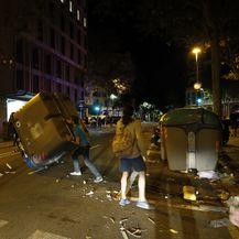 Neredi u Barceloni (Foto: AFP)