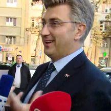 Andrej Plenković o optužbama protiv Milijana Brkića (Video: Dnevnik.hr)