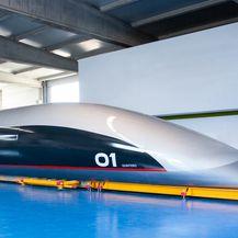 Hyperloop kapsula (Izvor: Hyperloop TT)