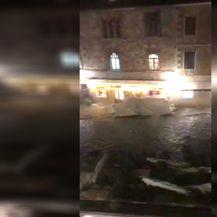 Poplava na Hvaru (Screenshot: Čitatelj)