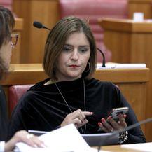 Marija Puh u sabornici (Foto: Patrik Macek/PIXSELL)