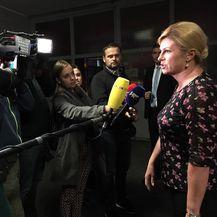Kolinda Grabar-Kitarović nakon obrane doktorata (Foto: Privatna fotografija)