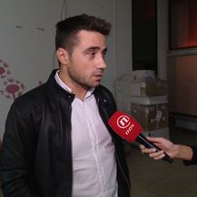 Sanja Vištica razgovara s Danijelom Bursaćem o problemu s prostorom za tekvando (Foto: Dnevnik.hr)