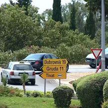 Kaos u prometu na jugu (Foto: Dnevnik.hr) - 3