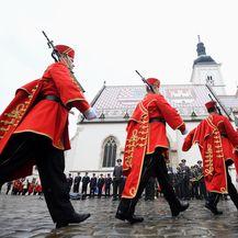 Počasna straža (Foto: Marko Lukunic/PIXSELL)
