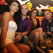 Marko Grubnić, Aleksandra Grdić, Ante i Simona Gotovac (FOTO: Marin Tironi/PIXSELL)