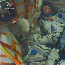 Drama pri uzlijetanju Sojuza (Foto: Reuters screenshot)