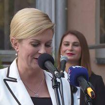 Predsjednica izmjestila Ured u Viroviticu (Video: Dnevnik.hr)