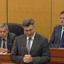 Andrej Plenković o tri mala miša iz Živog zida (Video: Dnevnik.hr)