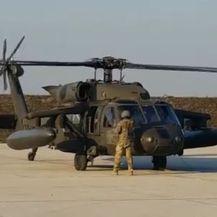 Američki helikopteri Blackhawk (Screenshot: Veleposlanstvo SAD-a)