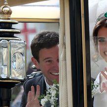 Vjenčanje princeze Eugenie (FOTO: Gareth Fuller/Press Association/PIXSELL)