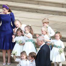 Vjenčanje princeze Eugenie (FOTO: Andrew Matthews/Press Association/PIXSELL)