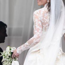Catherine Middleton na dan svog vjenčanja (Foto: AFP)