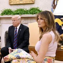 Melania i Donald Trump (Foto: Olivier Douliery/DPA/PIXSELL)