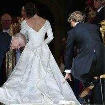 Prizor s kraljevskog vjenčanja zbog kojeg se priča o kumi mladenke, princezi Beatrice - 9