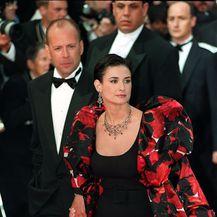 Bruce Willis i Demi Moore (Foto: Neil Munns/Press Association/PIXSELL)