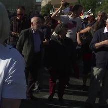 Prosvjed u Njemačkoj (VIDEO: AP)