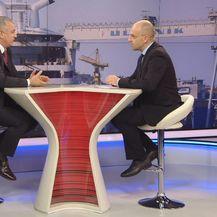 Darko Horvat, ministar gospodarstva, i Mislav Bago (Foto: Dnevnik.hr)