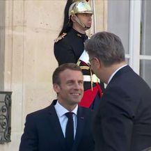 Premijer Plenković se sastao s francuskim predsjednik Emmanuelom Macronom (Video: Dnevnik Nove TV)
