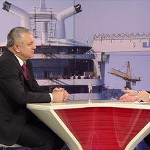 Mislav Bago s ministrom gospodarstva Darkom Horvatom razgovarao o stanju u Petrokemiji i brodogradnji (Video: Dnevnik Nove TV)