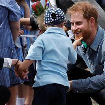 Mališana je posebno zainteresirala prinčeva brada