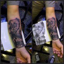 Tattoo-majstorica Tea Čagalj bijelu boju koristi samo za detalje (Foto: Privatni album) - 3
