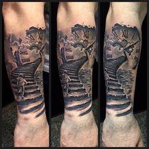 Tattoo-majstorica Tea Čagalj bijelu boju koristi samo za detalje (Foto: Privatni album) - 4