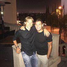 Mateo Kovačić i Luka Modrić (Foto: Instagram)