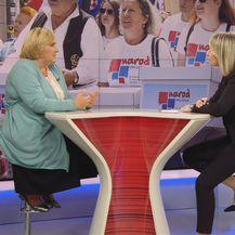 Željka Markić i Sabina Tandara Knezović (Foto: Dnevnik.hr)