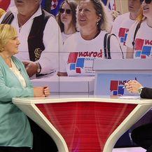 Željka Markić i Sabina Tandara Knezović o potpisima referendumskih inicijativa (Video: Dnevnik Nove TV)
