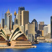 Prekrasna zgrada opere u Sydneyju