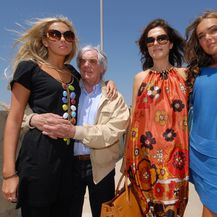 Bernie, Tamara i Petra Ecclestone (Foto: Dino Stanin/PIXSELL)