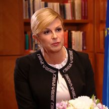 Predsjednica Kolinda Grabar Kitarović za Dnevnik Nove TV (Video: Dnevnik.hr) - 2