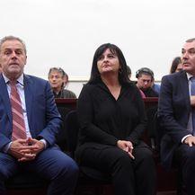 Milan Bandić, Ivica Lovrić i Zdenka Palac (Foto: Pixsell, Marko Lukunić)