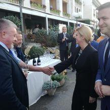 Predsjednica na Brijunima (Dnevnik.hr)