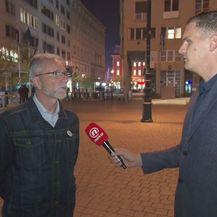 Krešimir Sever, predsjednik Nezavisnih hrvatskih sindikata, i Dino Goleš (Foto: Dnevnik.hr)