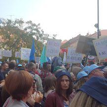 Prosvjed protiv mirovinske reforme (Foto: Dnevnik.hr)
