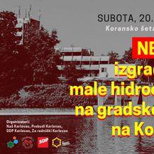 Poziv na prosvjed (Foto: Za radnički Karlovac)