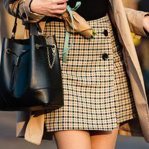 Karirane suknje opet su u modi