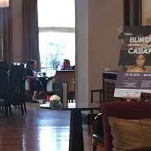 Martina Dalić i Marin Pucar na kavi (Foto: Dnevnik.hr)