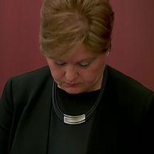Sutkinja Jasna Galešić izriče presudu za HEP-Dioki (Video: Dnevnik.hr)
