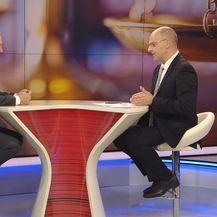 Dražen Bošnjaković, ministar pravosuđa, i Mislav Bago (Foto: Dnevnik.hr)