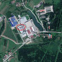 Okruženje poduzetničke zone u Kerestincu (Foto: Google Maps)