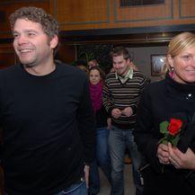 Janica Kostelić i Boris Ivančić (Foto: Matija Habljak/PIXSELL)