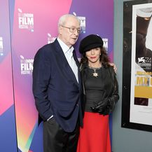 Michael Caine i Joan Collins (Foto: Getty Images)